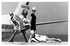 United Airlines Stewardesses [1968] (KurtClark) Tags: promo united wing 1968 airlines stewardess