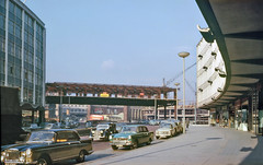Smallbrook Ringway 1962 (geoff7918) Tags: rover bullring queensway markethall midlandred austina40 princessr april1962 linkbridge smallbrookrigway cambridgea55 roofflashers