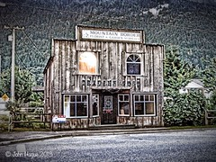Beyond Hope? (John Hague) Tags: canada hope britishcolumbia hdr tradingpost iphoneography simplyhdr