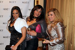 Valenzia Algarin, Kiki Melendez and Reyna Trevino