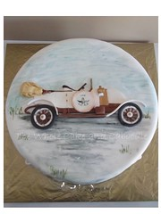 S.C.A.R (The Whole Cake and Caboodle ( lisa )) Tags: cakes car cake 100 scar whangarei 100years caboodle vintagecarclub northlandvintagecarclub societydeconstructionautomobilesdereimscentury