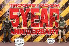 5 Year Anniversary (Troops of Doom) Tags: toy star action joe figure boba wars firefly gi fett