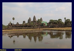 Cambodia 2013: Journey through Laos, Cambodia and Thailand (pharoahsax) Tags: world sea get reflection colors silhouette see asia asien cambodge cambodia kambodscha angkor wat reflektion 2013 pmbvw worldgetcolors