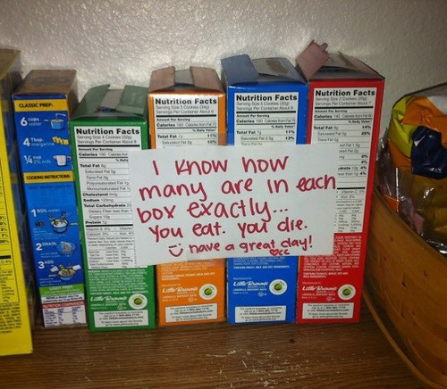 i know how many are in each box exactly...you eat. you die. ;) have a great day! ? cc