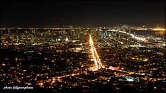 San Francisco Skyline at Night (billypoonphotos) Tags: sanfrancisco california street longexposure skyline night bay photo nikon theater market cityhall picture castro twinpeaks baybridge bayarea ferrybuilding eastbay eureka christmastreepoint d5000 billypoon billypoonphotos
