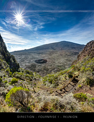 Direction: Fournaise ! - Ile de la Runion (LR Photographies) Tags: ocean panorama reunion canon island volcano soleil intense mark indian iii ile rivire piton 5d sentier hdr runion volcan iledelareunion ludovic enclos 1635mm lrphoto fournaise 974 reunionphoto wwwlrphotographiescom lrphotographies photoreunion lrphotographie foucqu