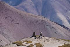 Nearing Ganda La (Ziemek T) Tags: hike ladakh markhavalley gandala