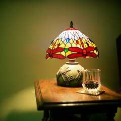 Antique Tiffany Lamp (Pedro S garcia) Tags: lamp wine antique tiffany