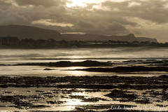 The view from Bundoran Beach (linda_mcnulty) Tags: ocean ireland sunset sea seascape beach water strand canon landscape bay rocks shore thepeak donegal bundoran donegalbay