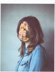 dreamer I (daphne og.) Tags: flowers roses portrait selfportrait girl self project dream surreal days scan blouse faceless dreamy 365 dreamer