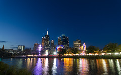 End of the day #moomba (wolfcat_aus) Tags: camera sunset skyline night river nikon dusk wide melbourne wideangle tokina clear yarra dx moomba 1116mm d7000 tokina1116mm tokinaaf1116mmf28 nikond7000 tokinaatxprodx