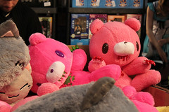 Gloomy bears (House Of Secrets Incorporated) Tags: belgium belgique belgi plush teddybear mia convention plushie gloomybear laeken laken brusselsexpo madeinasia