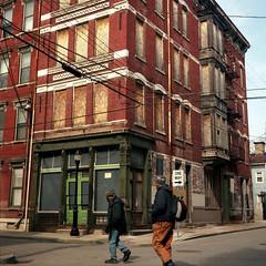 Over-the-Rhine, Cincinnati (deatonstreet) Tags: ohio urban abandoned 120 film architecture downtown cincinnati historic automat twinlensreflex overtherhine flexaret