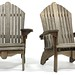 29. Pair of Teak Adirondack Chairs