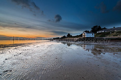 Lepe Sunset (Electric Lemonade Photography) Tags: park new sunset house electric forest sand pattern mark tide low watch lemonade national simpson lepe electriclemonadephotography cmwi
