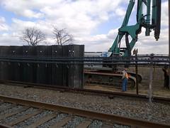 Rockaway A Train Restoration (MTAPhotos) Tags: sandy queens rockaways a hurricanesandy postsandy