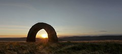 Striding Arches, Dumfires and Galloway (VisitScotland) Tags: sculpture sun art andy nature public scotland tv arch arches panoramic hills advert goldsworthy dumfries galloway striding visitscotland