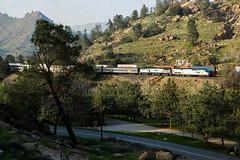 AMTK 11 @ Keene (Mathieu Tremblay) Tags: california santa railroad up burlington spring pacific union pass railway mojave fe northern printemps bnsf chemin fer subdivision