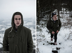 Jack Spooner #2 (LTA Photography) Tags: winter portrait cloud snow cold face fashion forest canon photography 50mm model documentary 1d portraiture gettyimages congleton primelens youngphotographers youngphotographer flickraward almostanything