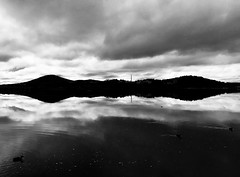 IMG_6808 (davesag) Tags: sky clouds reflections canberra