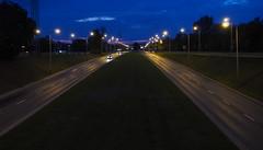 P7290007_v1 (jakubste) Tags: krakow cracow city night traffic