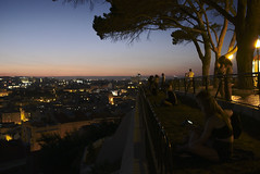 Me in hipster mode: I remember being alone here often...  #lisbon #portugal (t3mujin) Tags: bica city conditions dusk europe lisboa lisbon location places portugal sunset
