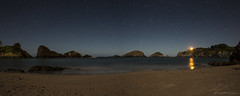 Sky stars over beach (JJPS Photo) Tags: sky seascape beach night stars nightscape
