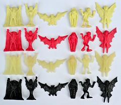 Vampires (Happiness Express Inc.) mini figure master set (LittleWeirdos) Tags: vampire vampires monstertoys littlerubberguys minifigures