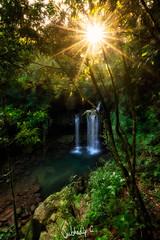 Loved by the Sun (Subhadip C, AFIAP) Tags: waterfall india waterfalls cascade meghalaya sunstar cherrapunjee subhadip sohra ka bri ki synrang garden caves laitmawsiang kshaid arshadad