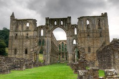 Rievaulx Abbey (richardsos@yahoo.com) Tags: abbey hdr rievaulx yorkshire england architecture english heritage stonework