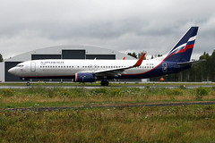 Aeroflot VP-BON, OSL ENGM Gardermoen (Inger Bjrndal Foss) Tags: vpbon aeroflot boeing 737 osl engm norway gardermoen