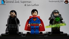 General Zod, Superman & Lex Luthor (Random_Panda) Tags: lego figs fig figures figure minifigs minifig minifigures minifigure purist purists character characters dc comics superhero superheroes hero heroes super comic book books superman lex luthor general zod