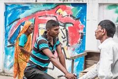 H504_3523 (bandashing) Tags: ride bicycle bike art street people flag 1971 warofindependence murial wall paint sylhet manchester england bangladesh bandashing aoa akhtarowaisahmed socialdocumentary