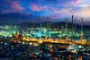 Oil refinery (Patrick Foto ;)) Tags: arabia auto automotive built business carbon chemical chemistry chimney color construction diesel distillation distillery ecology economy energy engineering environment factory gas greenpeace industrial industry iran lighting manufacture metal night oil petrochemical petrol petroleum pipeline plant pollution power production protection refinery saudi smoke smokestack steam sunset supply tank technology tower tube laemchabang changwatchonburi thailand th