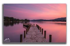 framedjetty (timothytripod) Tags: sunset coniston lakes lakedistrict water longexposure pink sky colour leefilters jetty lake explore