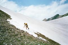 . (Kellen Mohr) Tags: kellenmohr colorado hiking dayhiking snow alpine pass mountains 35mm film kodak portra portra160 olympus minolta