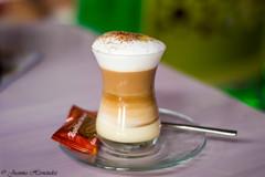 Un barraquito. A barraquito. Mmm !!! (Juanma Hdez) Tags: cafe coffee leche milk barraquito limon canela cinnamon lemon