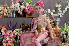 Poppy in Bloom (APPark) Tags: dolls fashion 16scale flowers integritytoys poppyparker missamour feminine girly