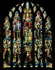 St Mary of Charity east window (Chrissie L - doesn't do Photoshop) Tags: window stainedglass stmaryofcharity faversham nikond700 kent gb capturenx2