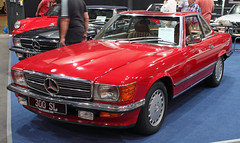 300SLC (Schwanzus_Longus) Tags: oldenburg german germany old classic vintage car vehicle red coupe coup mercedes benz 300sl 300slc