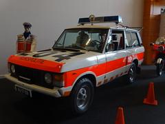"1975 Range Rover ""Rijkspolitie"" (harry_nl) Tags: netherlands nederland 2016 denhaag louwman museum politie rijkspolitie rangerover 4617bb sidecode2 grijskenteken"