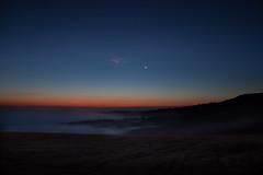 Film (steve.geliot) Tags: dawm mist moon downs landscape sweep