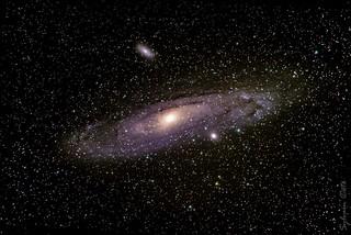 Galaxie d'Andromède / Andromeda Galaxy (M31, NGC 224)