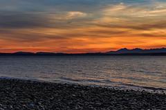 Puget Sound Evening Light (trail66td) Tags: pacificnorthwest photography pugetsound richmondbeach sunset washingtonstate