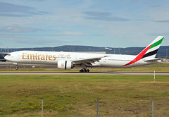 A6-EGT (Skidmarks_1) Tags: a6egt emirates boeing777 aviation aircraft airport airliners engm norway osl oslogardermoenairport