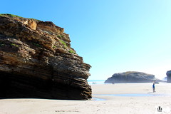 As Catedrais (Federico Boaretto) Tags: spain ascatedrais sea sun cliffs beach lowtide