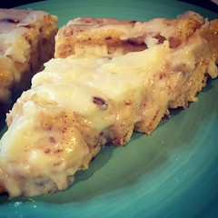 Cheesecake Stuffed Cinnamon Roll Pie ..... (steamboatwillie33) Tags: pie cinnamonroll cheesecake stuffed glaze delicious homemade baked 2016 kitchen food dessert snack