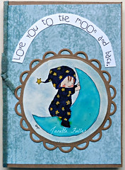 Love You To The Moon and Back (janettefuller) Tags: handmade handmadegreetingcard moonbaby moon digitalstamp momanning baby copicsketchmarkers bluemoon loveyoutothemoonandback