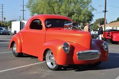 20th Annual La Verne Cool Cruise (USautos98) Tags: 1941 willys prostreet hotrod streetrod custom