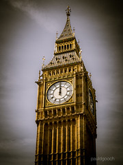 Midday (pauldgooch) Tags: westminster eos parliament 600d bigben clock city time canon midday 2016 london england unitedkingdom gb